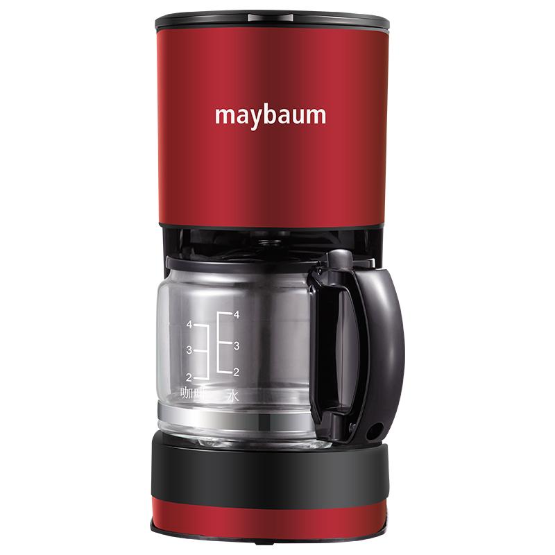 德国Maybaum五月树新款滴滤咖啡机M180红色0.6L