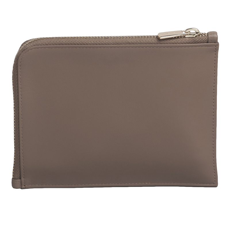 HUGO BOSS 尊贵棕色真皮商务手包HLS606Z 棕色17.0x12.5x1.5cm