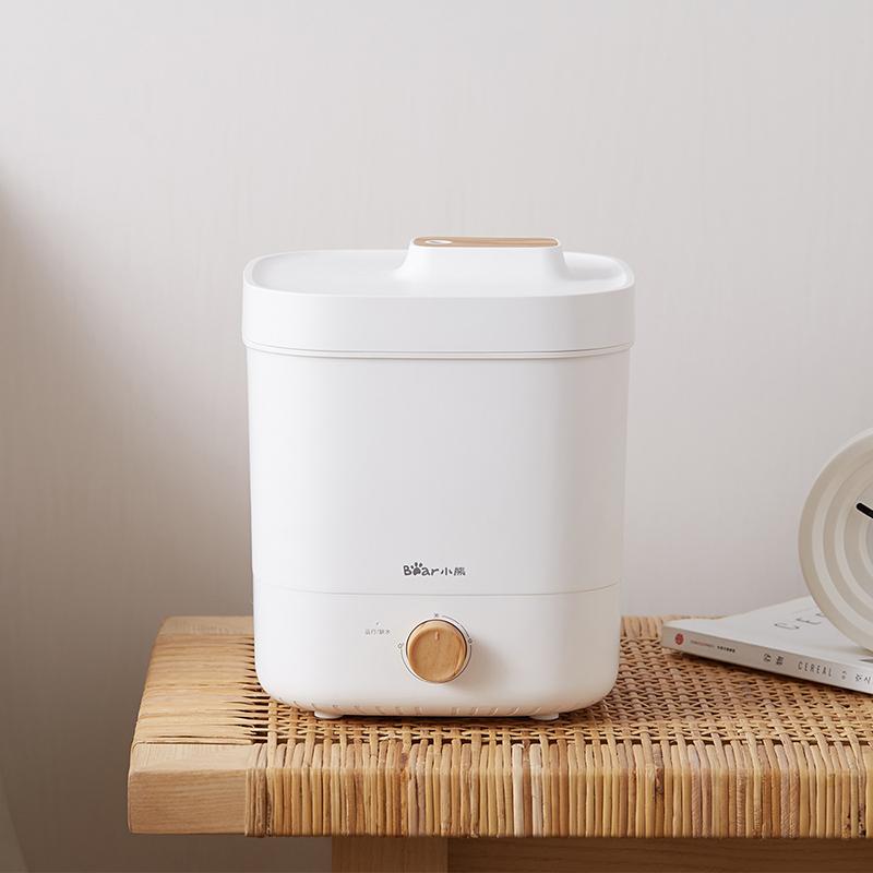 小熊 (Bear)加湿器 家用上加水 卧室客厅办公室增湿器 孕婴可用 4升大容量 香薰时尚静音 JSQ-C40L5