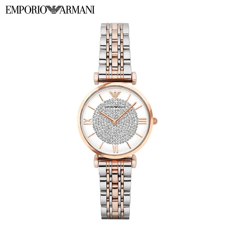 阿玛尼/Armani 满天星系列 防水女士手表 时尚镶钻潮流时装腕表 AR1926