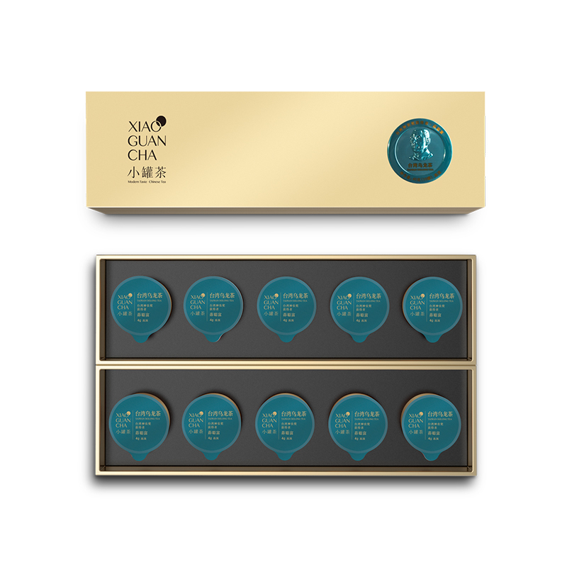 小罐茶10罐条装-台湾(冻顶)乌龙茶礼盒