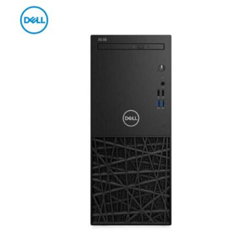 戴尔(DELL)成铭 商用台式主机电脑 3980MT I3-8100/4G/1T/Win10 3年上门服务