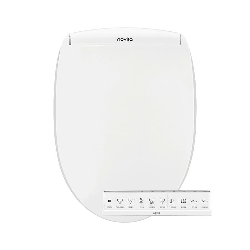 科勒旗下品牌novita/诺维达全进口家用智能马桶盖板冲洗洁身器TK5390T