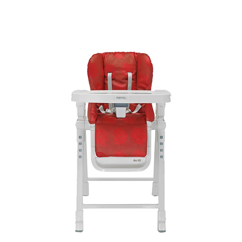 英吉利那佳多豪华餐椅(草莓红)