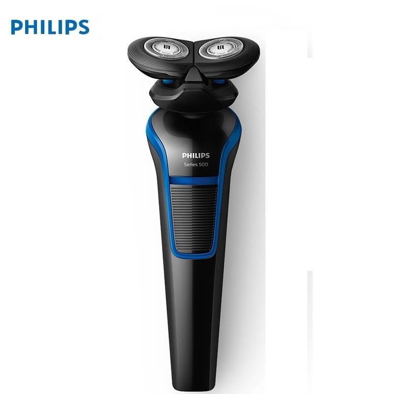 Philips/飞利浦电动剃须刀S528 双刀头 亲肤顺滑 全身水洗