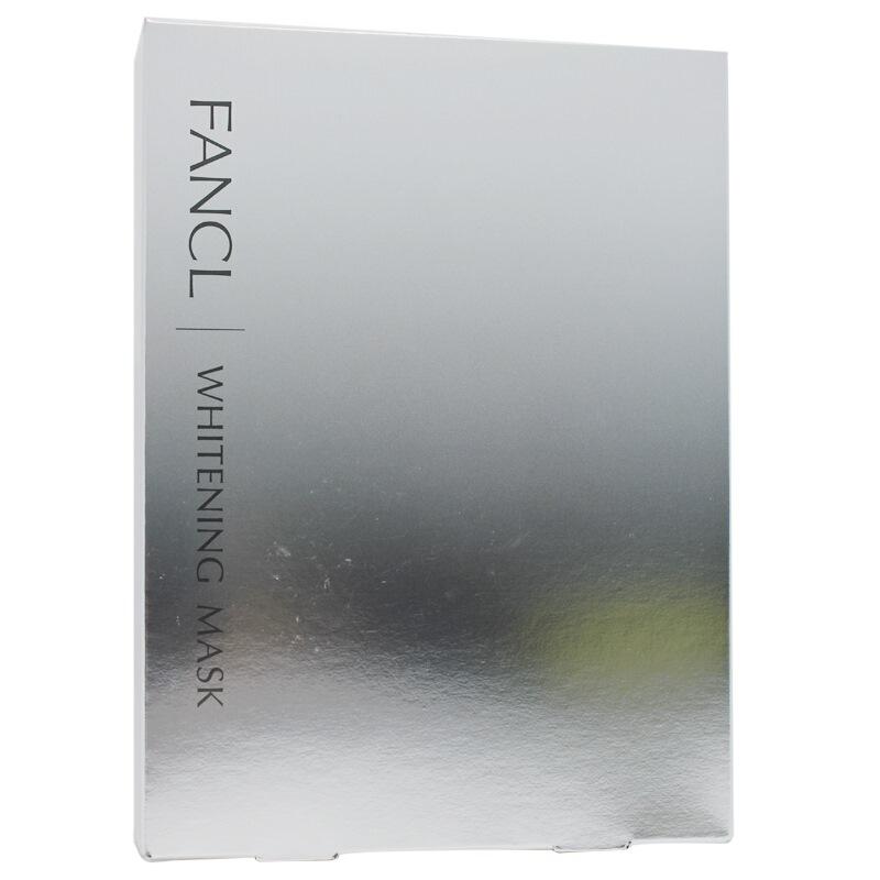 芳珂(FANCL)瑩亮凈白精華面膜18ml*6片(面膜 精華 凈白)