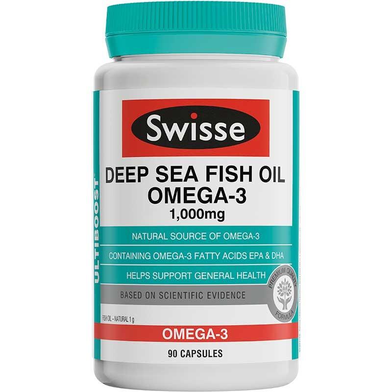 Swisse深海魚油膠囊1000毫克90粒