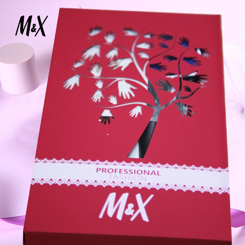 M&X指甲油指亮印象12ml*5色美甲禮盒