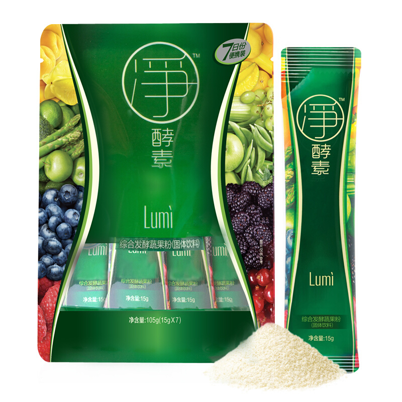 lumi凈酵素粉(15g×7袋/盒)