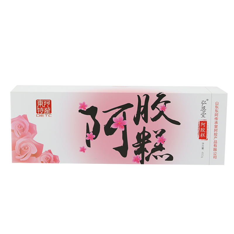 弘恩堂阿膠糕原味450g禮盒裝