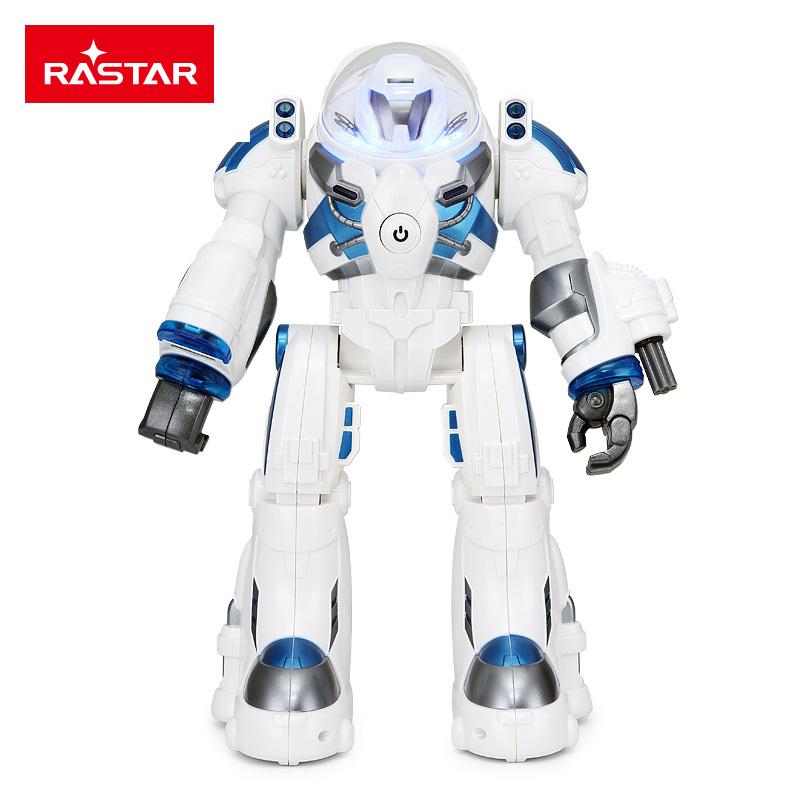RASTAR/星輝 太空1號 兒童大型智能遙控陪伴機器人,外置充電,標配版76960星空藍