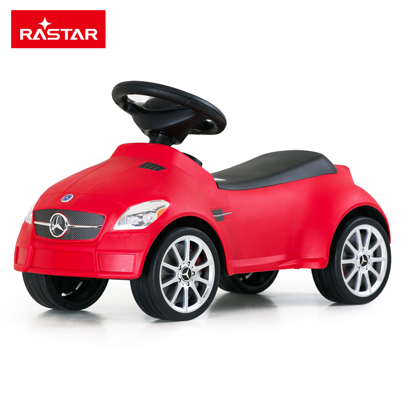 RASTAR/?#33108;?奔驰SLK55 AMG 儿童滑行车摇摆车子婴儿童扭扭车 猪猪车猪猪车82300 颜色随机