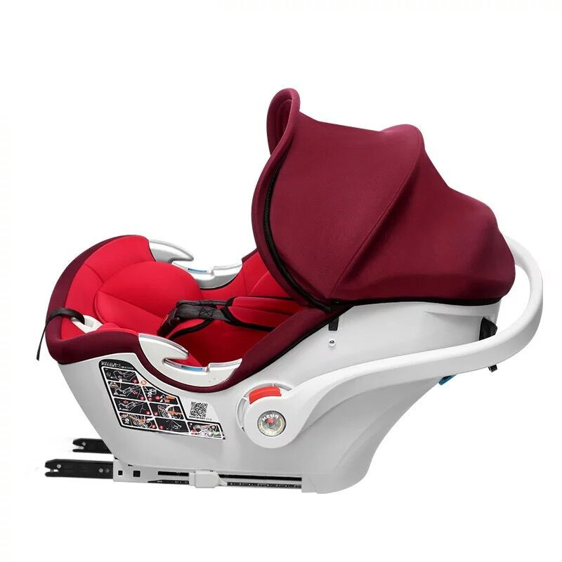 Ganen感恩兒童安全座椅車載寶寶提籃 A30(0-12個月)紅色