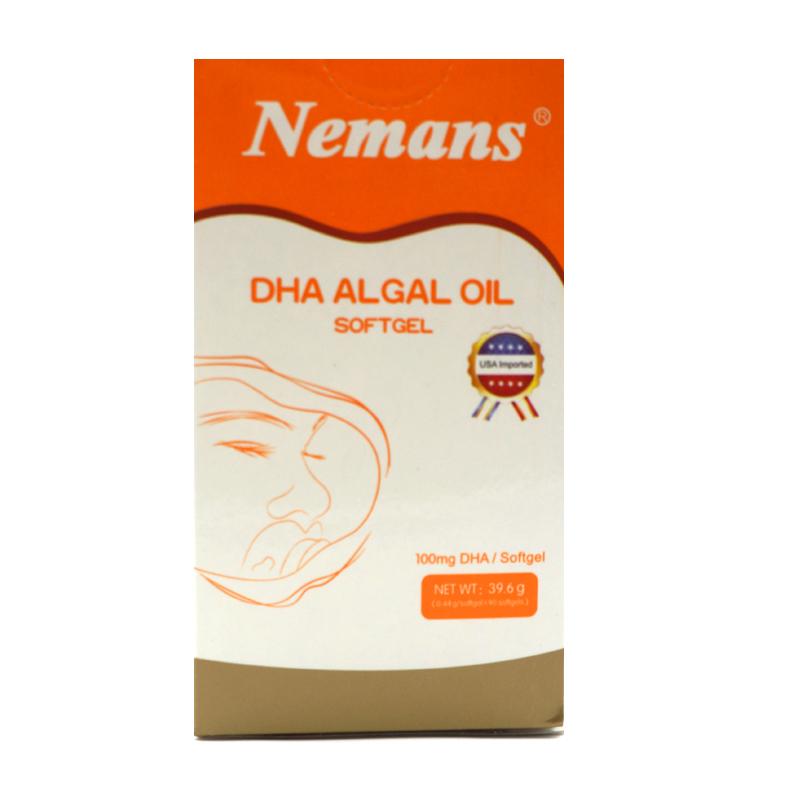 纽曼思藻油DHA软胶囊儿童90粒(原装进口)