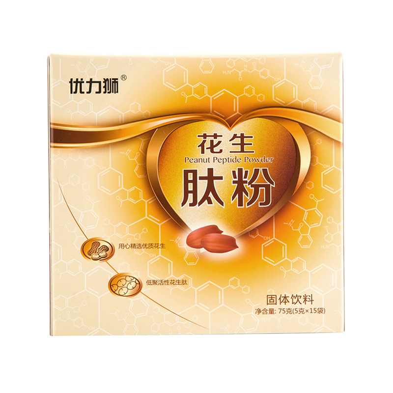 優力獅花生肽粉75g(5g*15袋)