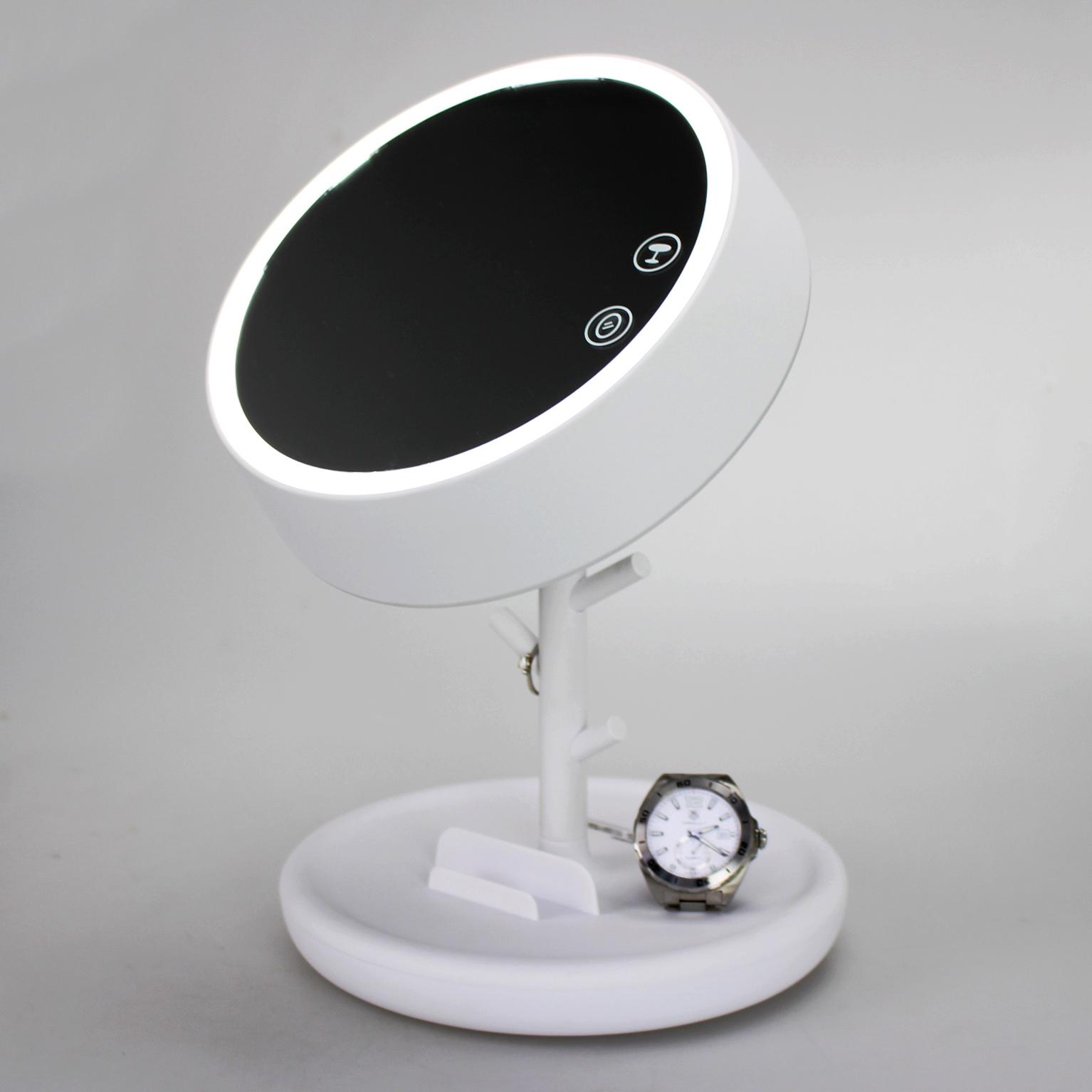 家奈圆形化妆镜灯GJ1002