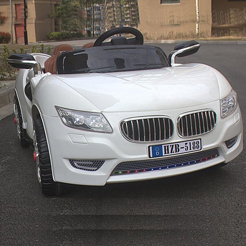 孩智堡儿童玩具汽车HZB-5188-抛光白色单驱款