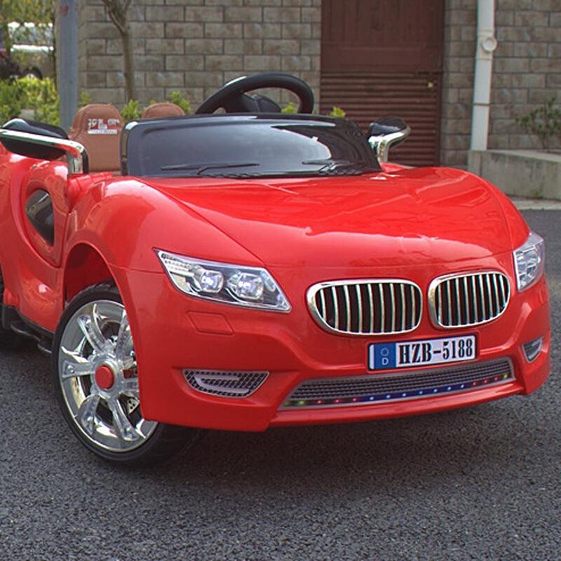 孩智堡儿童玩具汽车HZB-5188-抛光红色单驱款