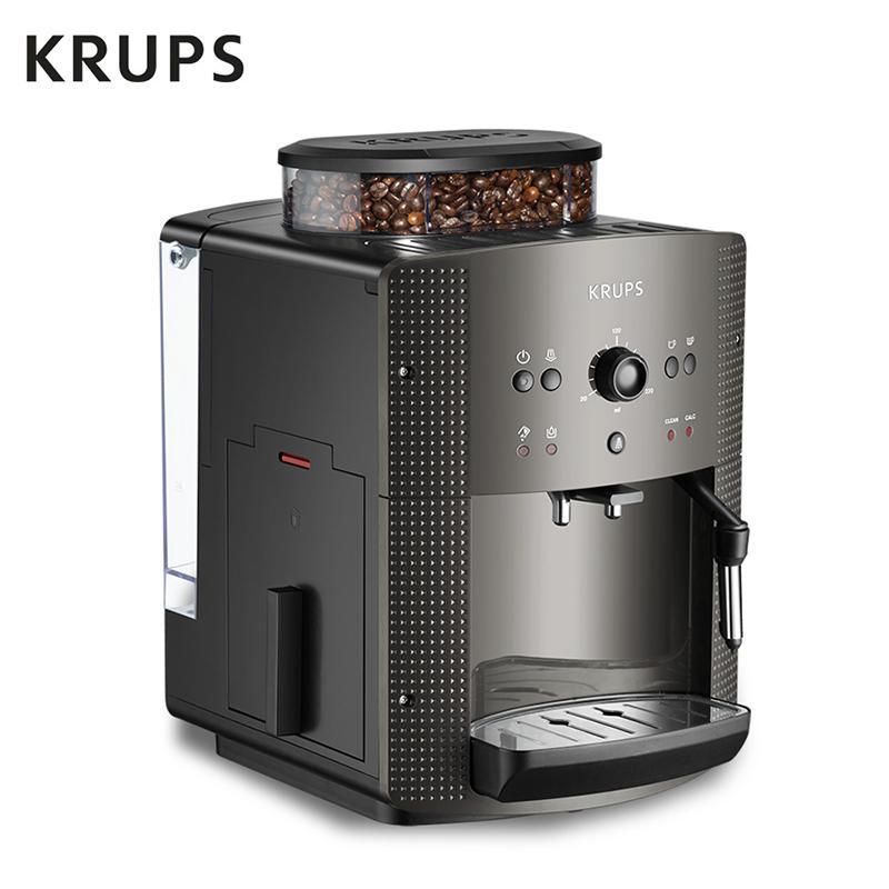 krups EA810B80法国进口全自动意式咖啡机家用小型1人-2人现磨
