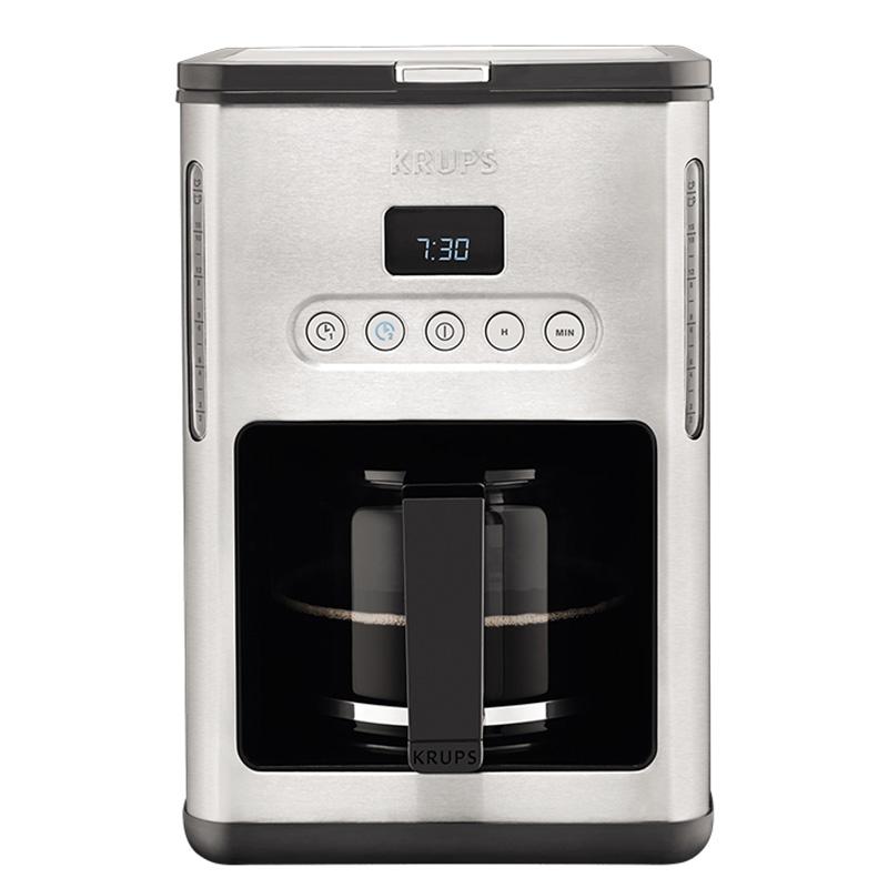 krups KM442D80滴漏式咖啡机家用智能饮料机小型煮咖啡壶办公室用
