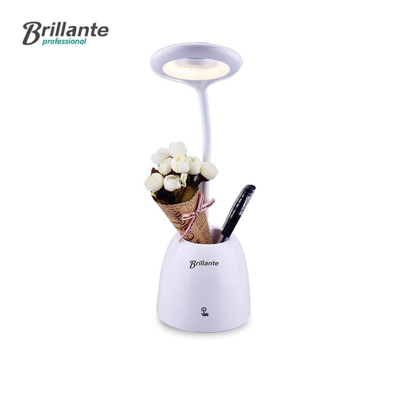 Brillante/貝立安 海爾旗下暮光筆筒護眼燈BJH-TD02臺燈多用桌面護眼LED小臺燈無極調光