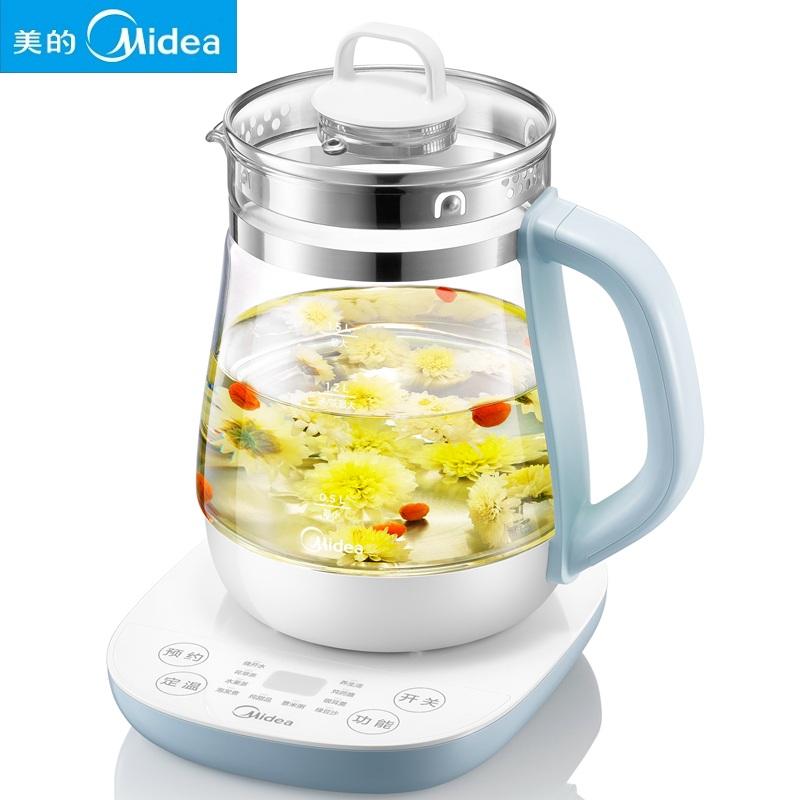 Midea/美的 家用多功能多段温控电热养生壶煎药壶MK-GE1513煮茶壶1.5L