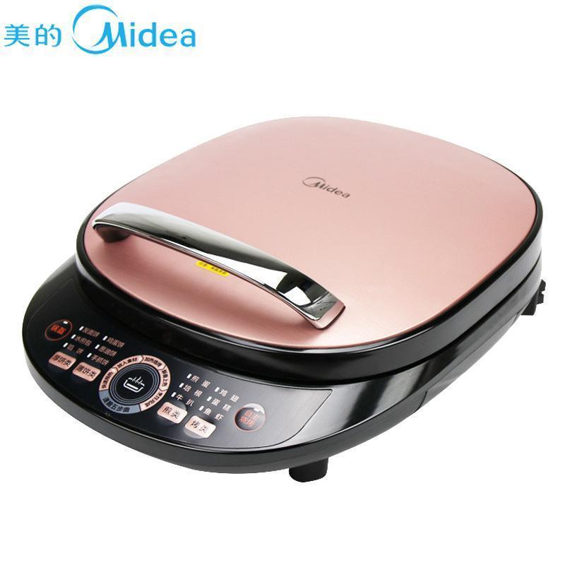 Midea/美的 电饼铛煎烤机家用双面加热烙饼锅薄饼煎饼机MC-JCN30S
