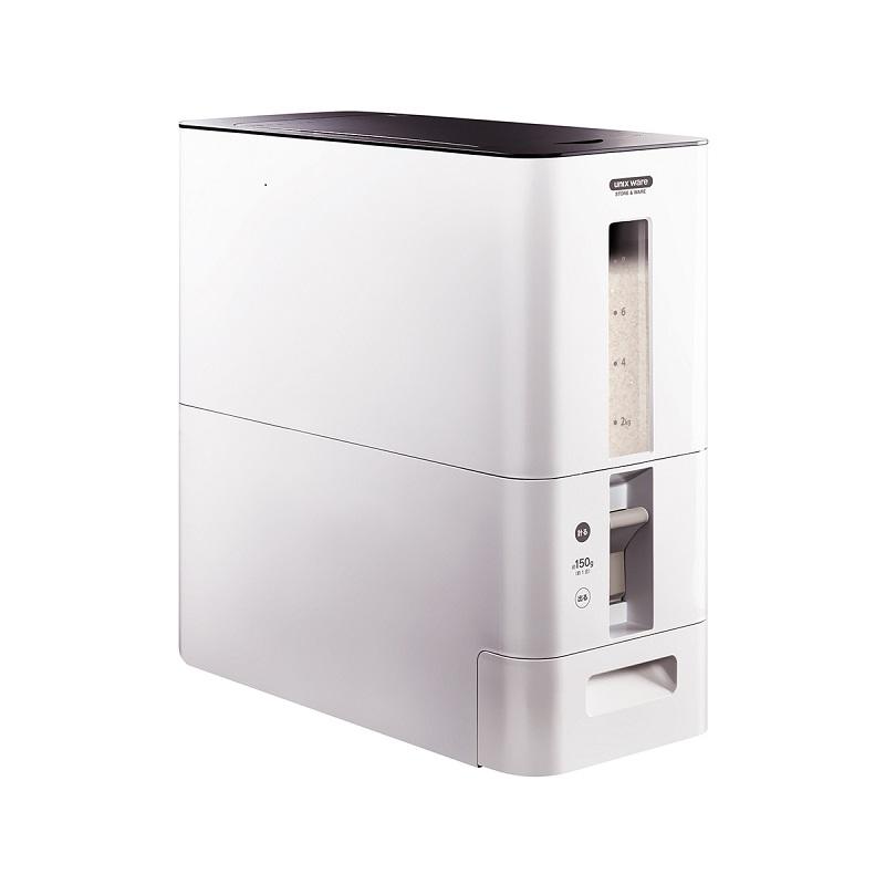 日本ASVEL阿司倍鹭 S计量米缸 6kg 白色