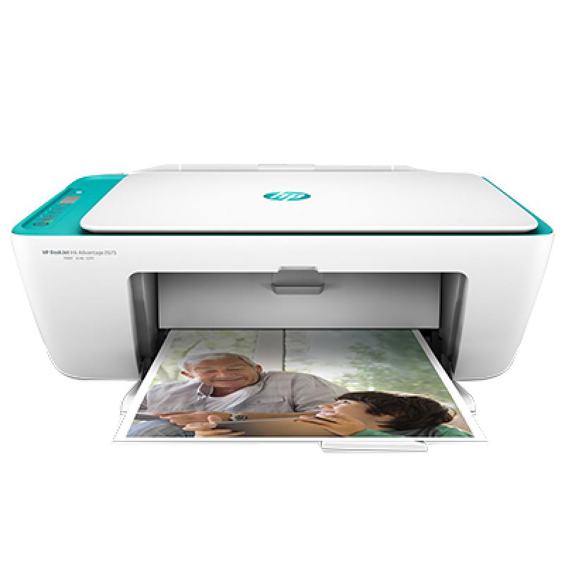 HP 惠普 惠众彩色无线wifi一体打印机 (复印扫描) DESKJET 2623