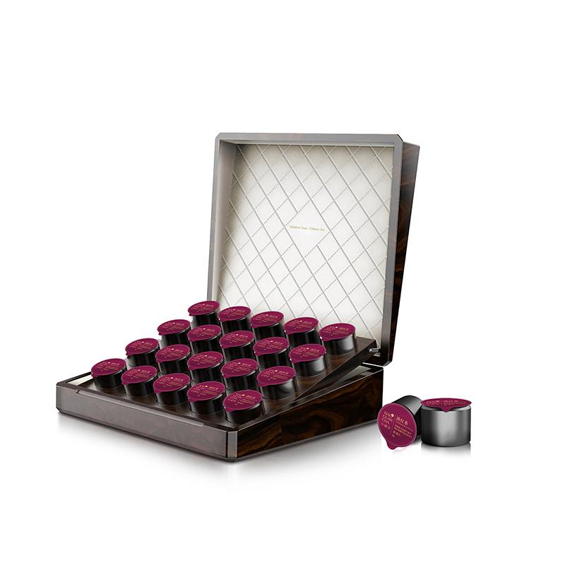 小罐茶黑罐20罐木盒装-滇红限量版礼盒