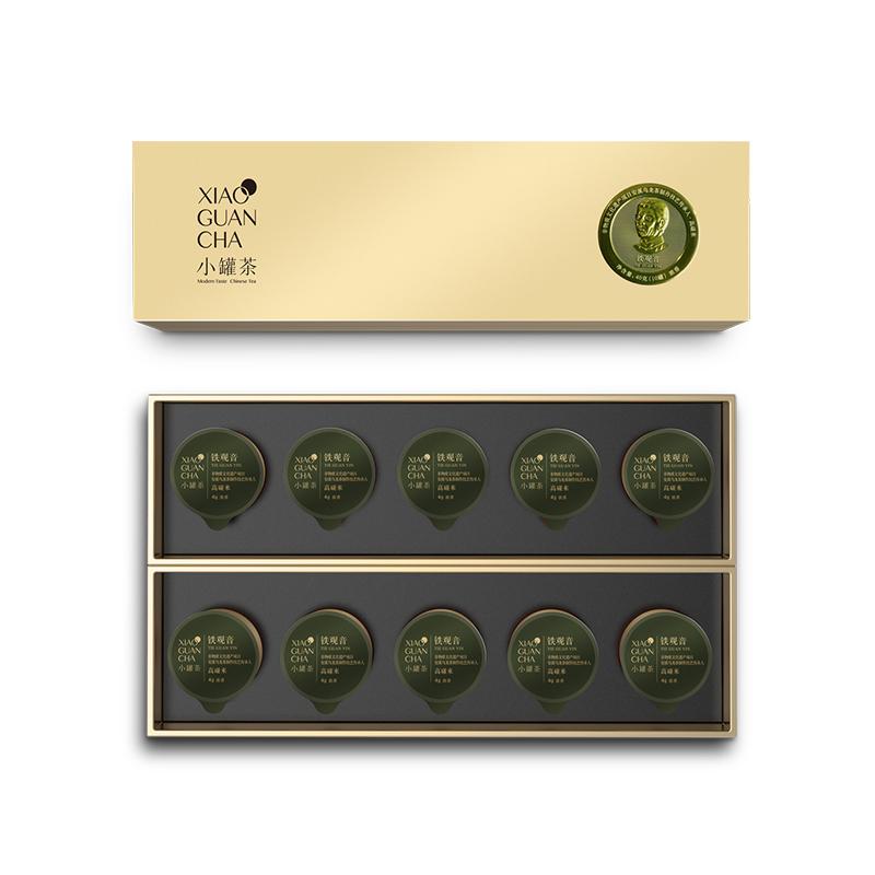 小罐茶10罐條裝-鐵觀音(濃香)禮盒