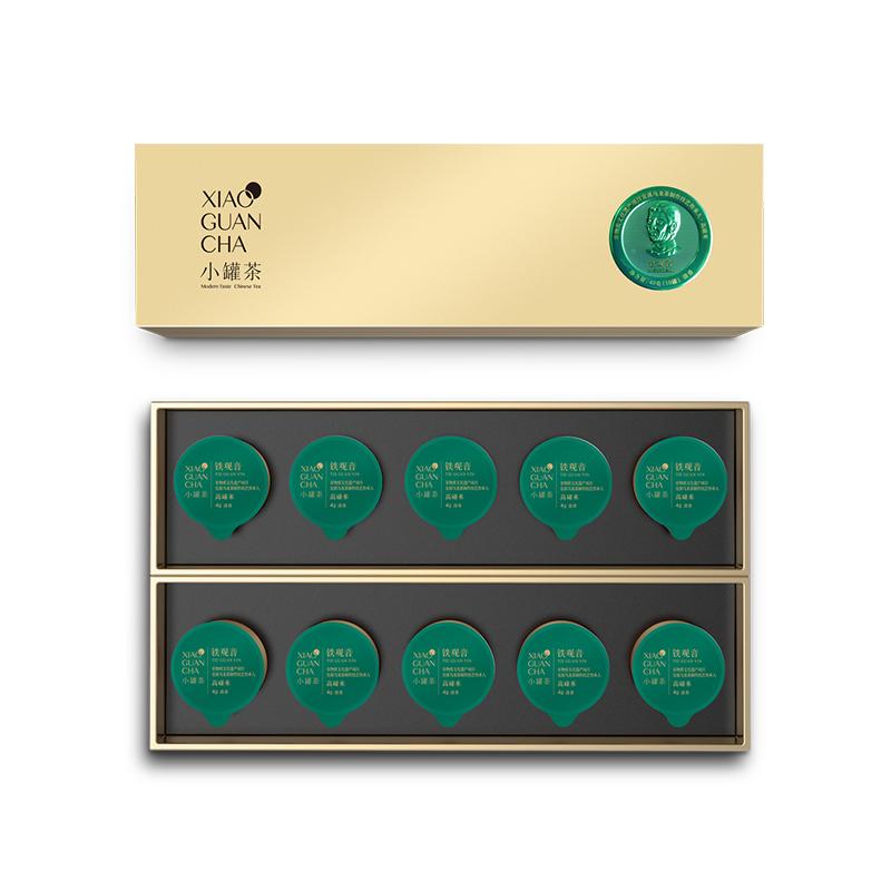 小罐茶10罐条装-铁观音(清香)礼盒
