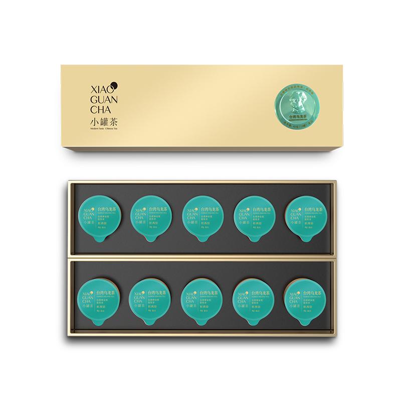 小罐茶10罐條裝-臺灣(高山)烏龍茶禮盒