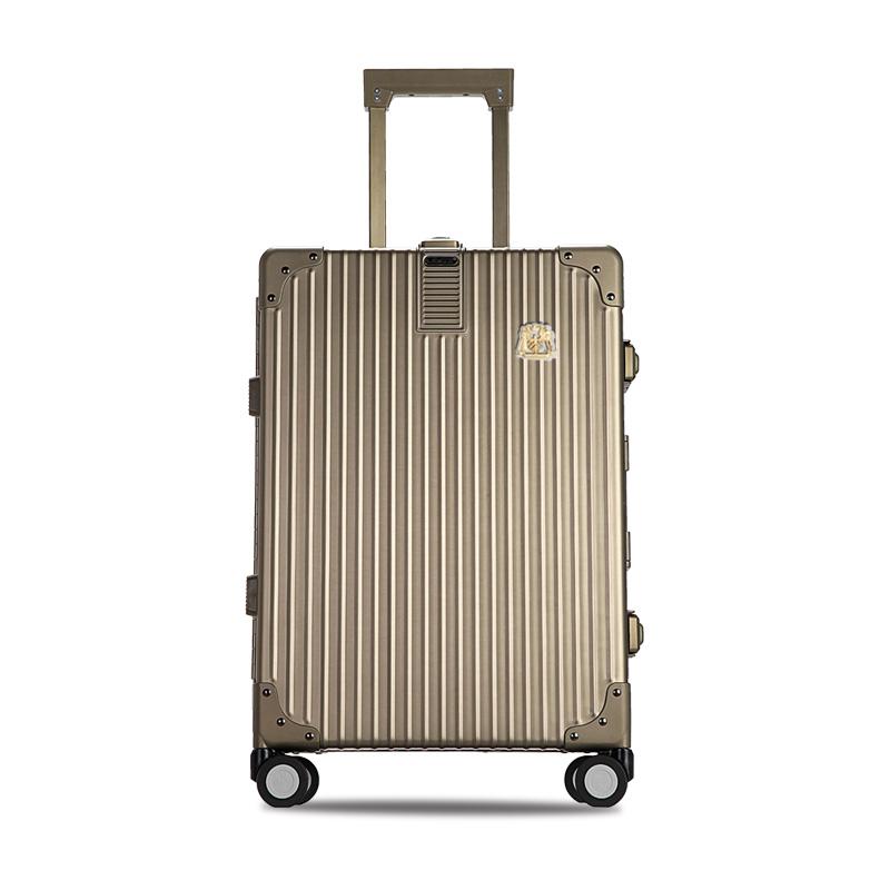 利马赫/LIEMOCH 爱勒(ILRA)铝镁合金 旅行箱 金色20寸