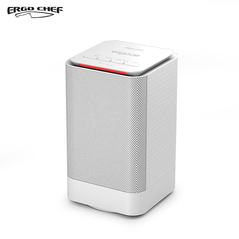 ERGO CHEF 暖风机 EH101 电暖气 家用办公小巧迷你恒温功能 极速大功率950W陶瓷快速加热片取暖器摇头小太阳