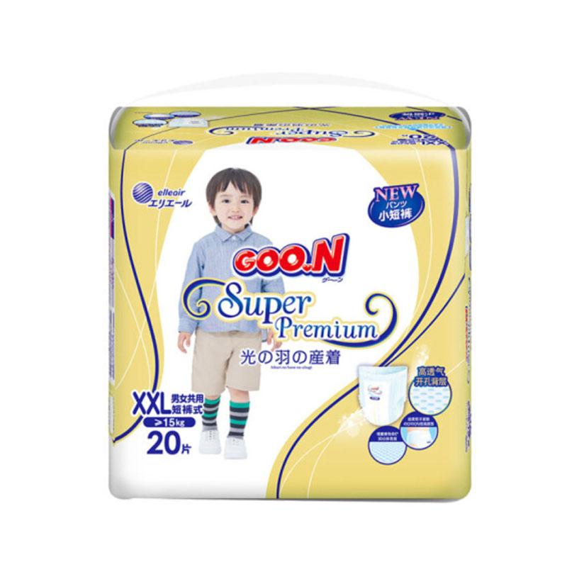GOO.N?大王 短褲式紙尿褲 光羽系列 XXL20片