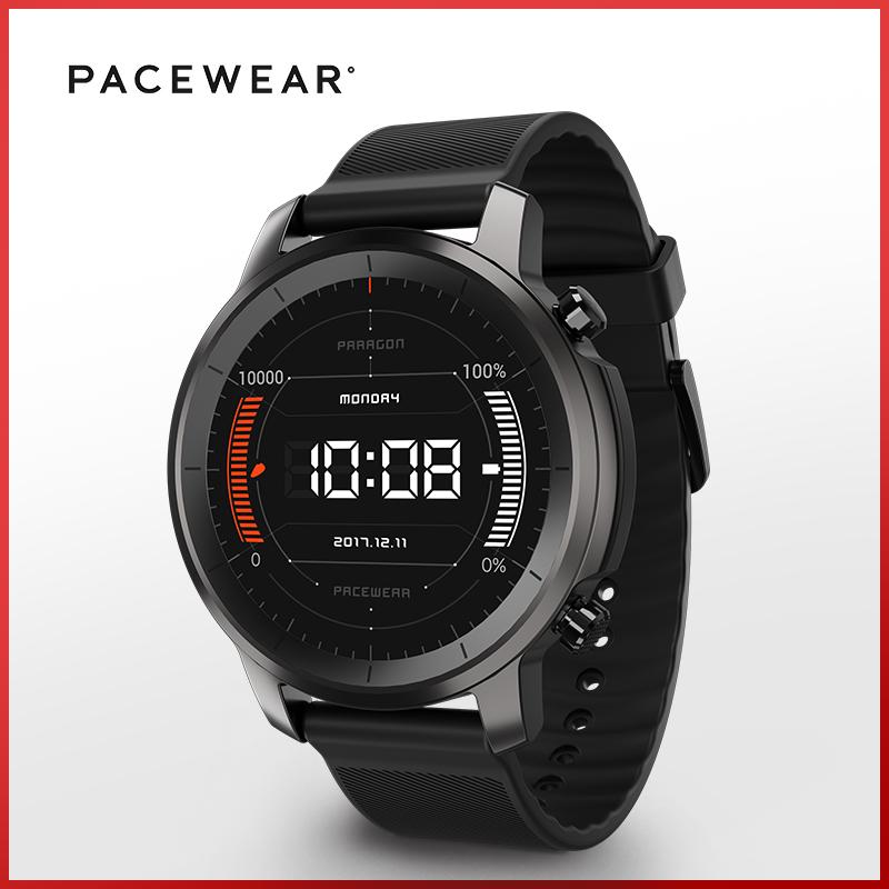 Pacewear HC 智能運動電話手表多功能支付IOS安卓男手環(標準版 適合140-210毫米腕圍)