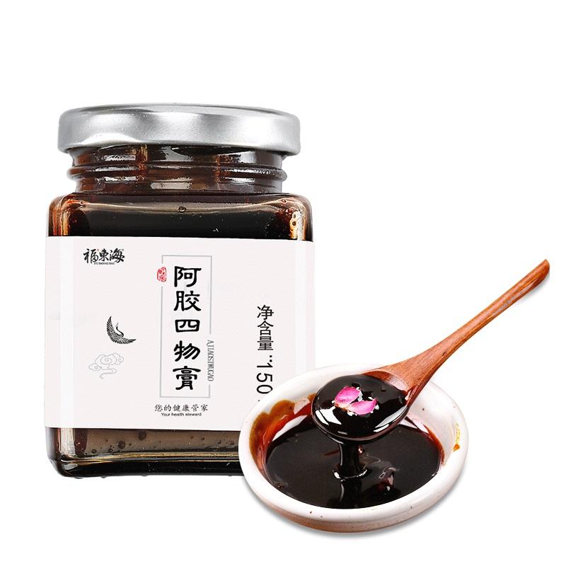 福東海八珍湯玫瑰阿膠四物膏150克*2瓶