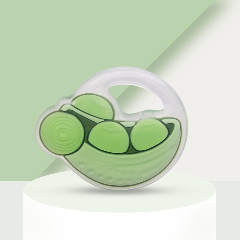 綺眠寶貝雙層萌趣牙膠豌豆款