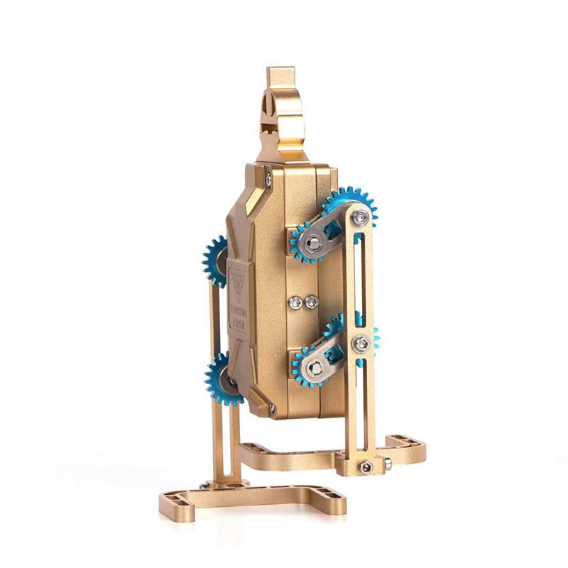 土星工匠師步行者機器人3D金屬拼裝拼插模型合金大人高難度機械組裝DM20 步行者1號