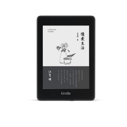 亞馬遜 kindle paperwhite4 電子書閱讀器 電紙書墨水屏 黑色8G