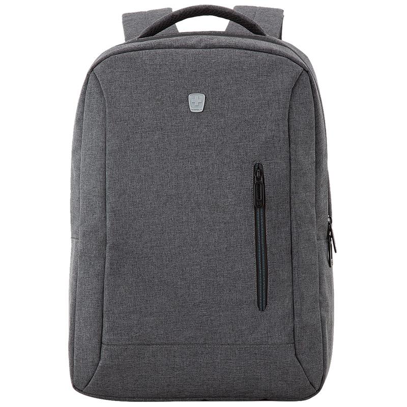 瑞動(SWISSMOBILITY)雙肩包男女休閑旅行包電腦背包大中學生大容量休閑書包MT-5918 灰色