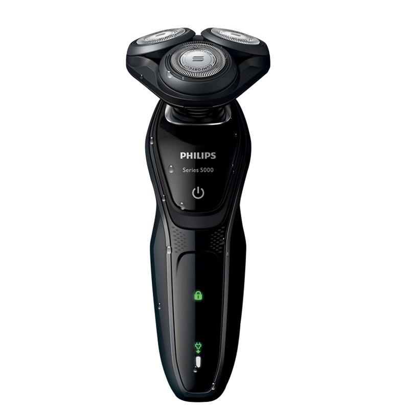 Philips/飛利浦電動剃須刀 充電式三刀頭多功能理容 S5082