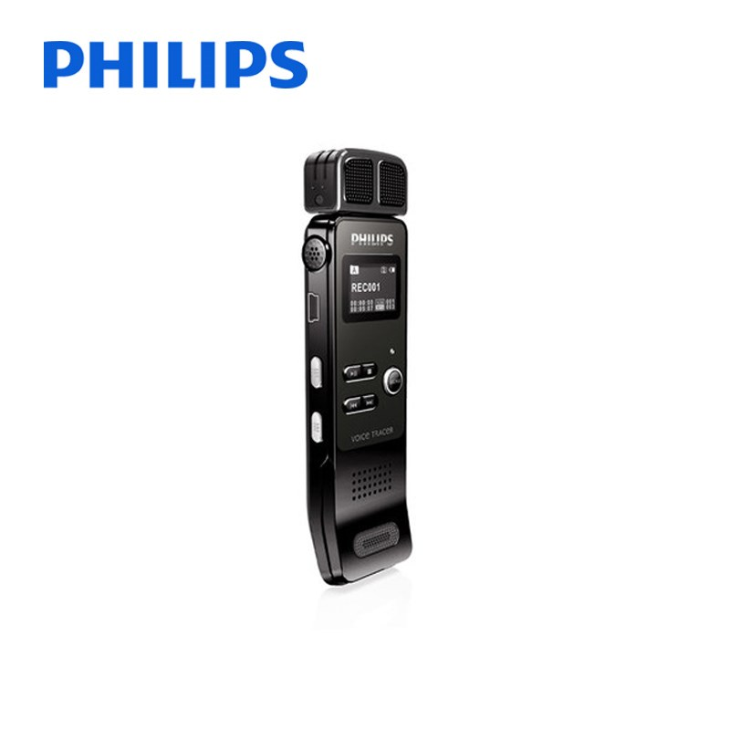 飛利浦VTR7100錄音筆高清遠距聲控迷你8g錄音筆mp3播放器 錄音筆黑