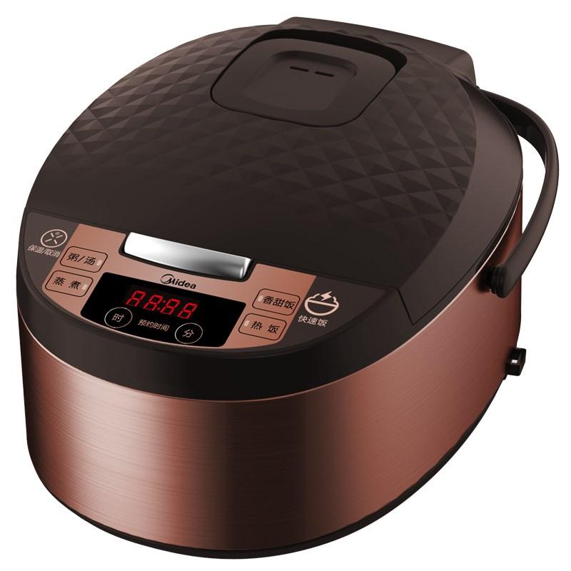 midea美的 FS5073A电饭煲5L升大容量家用智能电饭锅2-4-6-8人