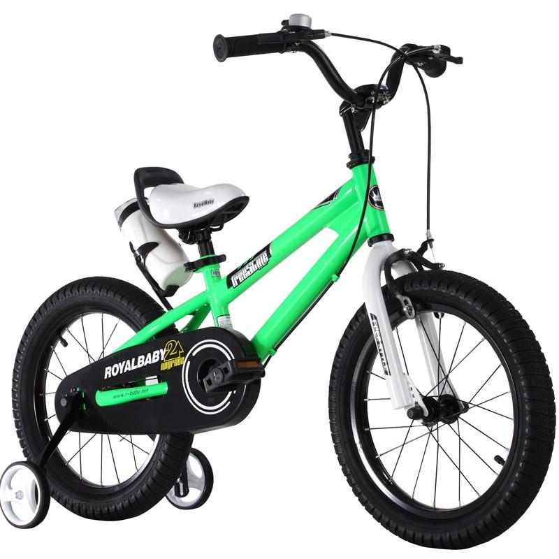 优贝儿童自行车3宝宝脚踏车2-4-6-7-8-9-10岁童车男孩女孩单车12寸表演车(绿色)