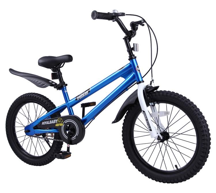 優貝兒童自行車3寶寶腳踏車2-4-6-7-8-9-10歲童車男孩女孩單車16寸表演車(藍色)